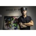 Stor sug efter den danske konstnären Mikael B:s färgexplosioner