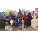 Butiker kraftsamlar för svältdrabbade i östra Afrika