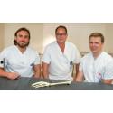 Pär Fischer, Kurt Pettersson och Marcus Sagerfors, handkirurger på USÖ