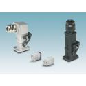 Kompakta industriella kontakter för kraftöverföring