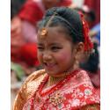 Nepalesisk flicka