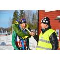 Emilia Lindstedt dominerade i Västgötaloppet Skidor 2015