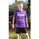 Stroke survivor takes on running challenge to raise funds for stroke charity