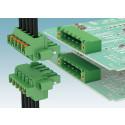 New vertical PCB connectors