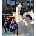 """Temat för snöskulpturmästerskapen   """"Ålder, visdom och respekt"""""""