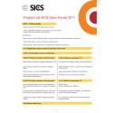 Program på SICS Open House 2011