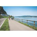 Mit PostAuto, Bahn und Schiff auf Fahrradtour in der Schweiz