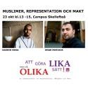 Makt, muslimer och representation första ämnet ut i seminarieserie