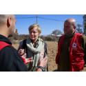 Svenska Röda Korsets ordförande talar i FN om riskhantering av humanitära katastrofer