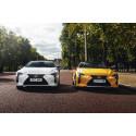 Säljframgång för lyxkupémodellen Lexus LC – utsedd till årets bästa kupé