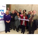 ​Stroke survivors' artwork exhibited in Manchester to celebrate World Stroke Day