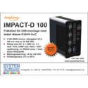 Kompakt  och fläktlös industri-PC för DIN-montage med Intel Atom E3845-processor