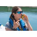 Hi-res image - Ocean Signal - Ocean rower Lia Ditton with the Ocean Signal rescueME PLB1