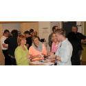 Företag och studenter minglade för samarbete