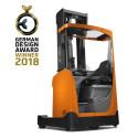 Toyota Material Handling Finland Oy - BT Reflex -työntömastotrukki voitti German Design Award 2018 -palkinnon