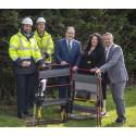 Paul Wheelhouse MSP visits the Scottish Borders to celebrate new fibre connection
