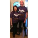 Blackburn stroke survivor takes on Resolution Run for the Stroke Association