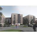 Startskott för Akademiska Hus studentbostäder i Luleå