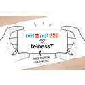 NetOnNet inleder samarbete med Telness, telekomspecialisten för företagsabonnemang