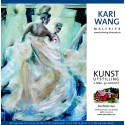 Kunst utstilling av Kari Wang på Snefrids Hus