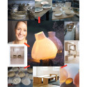 Sandra Lindner´s Verform Luminaire in SLOWFASHIONhouse.com