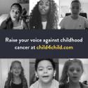 Världens barn sjunger för att uppmärksamma barncancer i ny singel