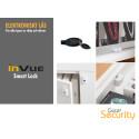 Elektroniskt lås för alla typer av skåp och dörrar