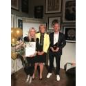 Annica Forsgren Kjellman och Mikael Kjellman, Skincity Sweden AB är Årets Företagare Stockholms län 2017