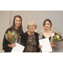 Lisa and Linnéa awarded prize for their environmental work