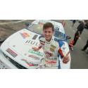 Mattias Lindberg vann finalkvalet i V8 Thunder Cars
