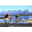 Nyhet: bagagetransport för cykelsemestern i Norge