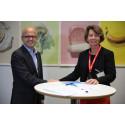 Sodexo signerte avtale om reduksjon av matsvinn hos miljø- og klimadepartementet