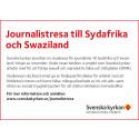 Journalistresa Sydafrika och Swaziland