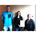 Upptech vinner pris för bästa cykelställe!