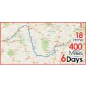 1 Man, 18 Stone, 400 Miles, 6 Days