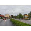 Övik Energi byter trafikljus i Sund