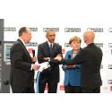 President Obama besökte Phoenix Contact på Hannovermässan