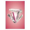 Färgstark hårvård med Glamstyler; Skapa vardagsglamour i badrummet