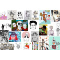 Åt pipsvängen med osund konkurrens och förlegade normer -  Nya feministiska konstagenturen Femart utmanar