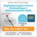 3bits partner på D-Fokus B2B Stockholm 2016