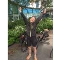Lisa cyklade och sprang 130 mil för ökad kunskap om ALS