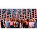 HdWM-Studenten besuchen Europäisches Parlament in Straßburg – Daniel Schneider glänzt mit perfekter Organisation