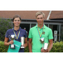 Johanna och Jesper svenska juniormästare i golf