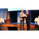 Biogas Research Center har tilldelats årets Biogasutmärkelse