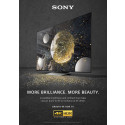 "BRAVIA 4K HDR TV ""Balloons"" commercial key visual"