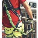 Delar ut fallskyddsselar för att uppmärksamma säkerhetsdagen