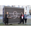 Den första september invigs Norrköpings kub för mänskliga rättigheter i Kungsträdgården