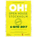 Ta chansen att vara volontär under Open House Stockholm!