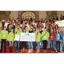 Auszeichnung für Unternehmernachwuchs im Wirtschaftsministerium: Preisverleihung des Bundes-Schülerfirmen-Contests