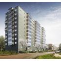 Tuve Bygg AB fick uppdraget att bygga tiovåningshuset på Briljantgatan!